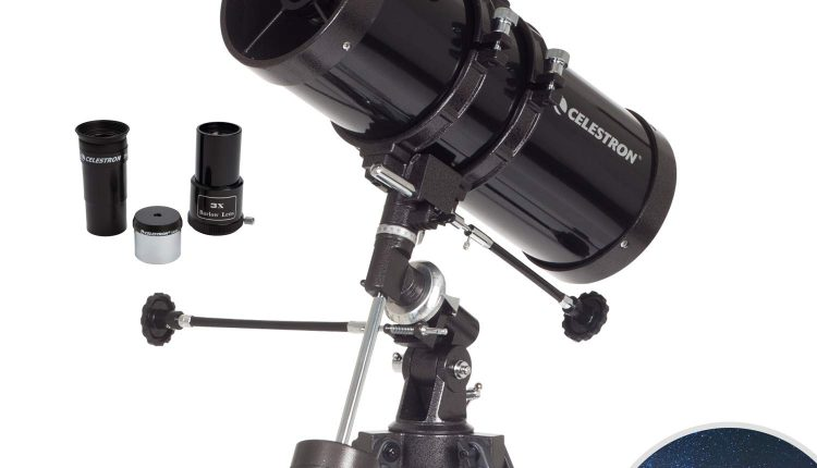 newtonian reflector telescope celestron powerseeker astronomical astronomy 127eq review